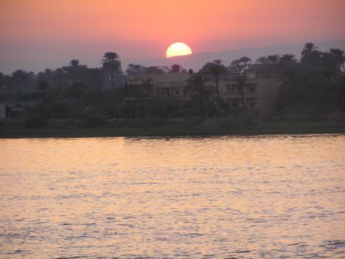 Sunset over the Nile, Luxor ©Venus Adventures