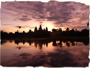 UNESCO World Heritage site, Angkor Wat temples, Cambodia