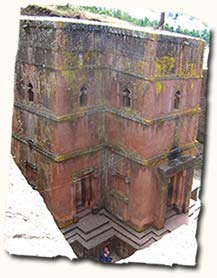 Rock-hewn churches Lalibela, Ethiopia