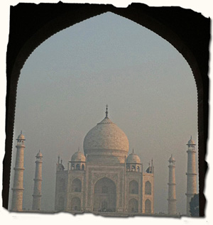 Taj Mahal, romantic India