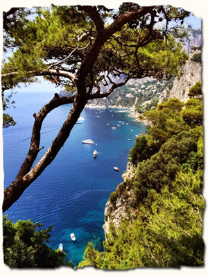 Italy tour day 8, Capri highlights