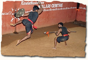 Kalari, traditional martial art