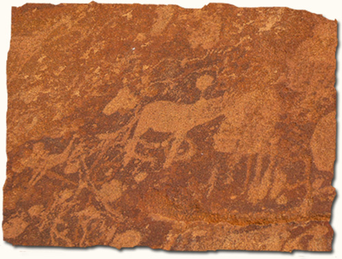 6000 year old rock engravings, Twyfelfontein